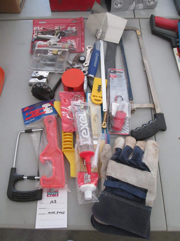 Lot # 163 - Miscellaneous Tools (main image)