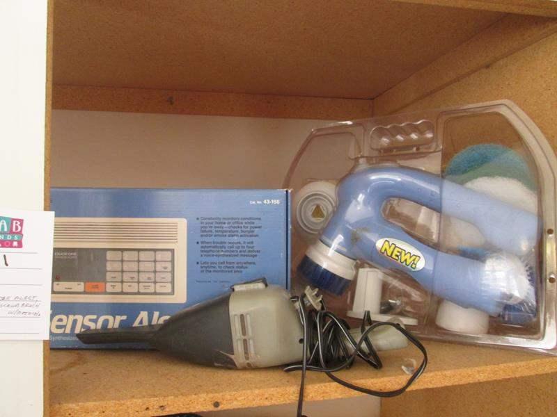 Lot # 21 - Sensor Alert, Car Vac with Scrubber (main image)