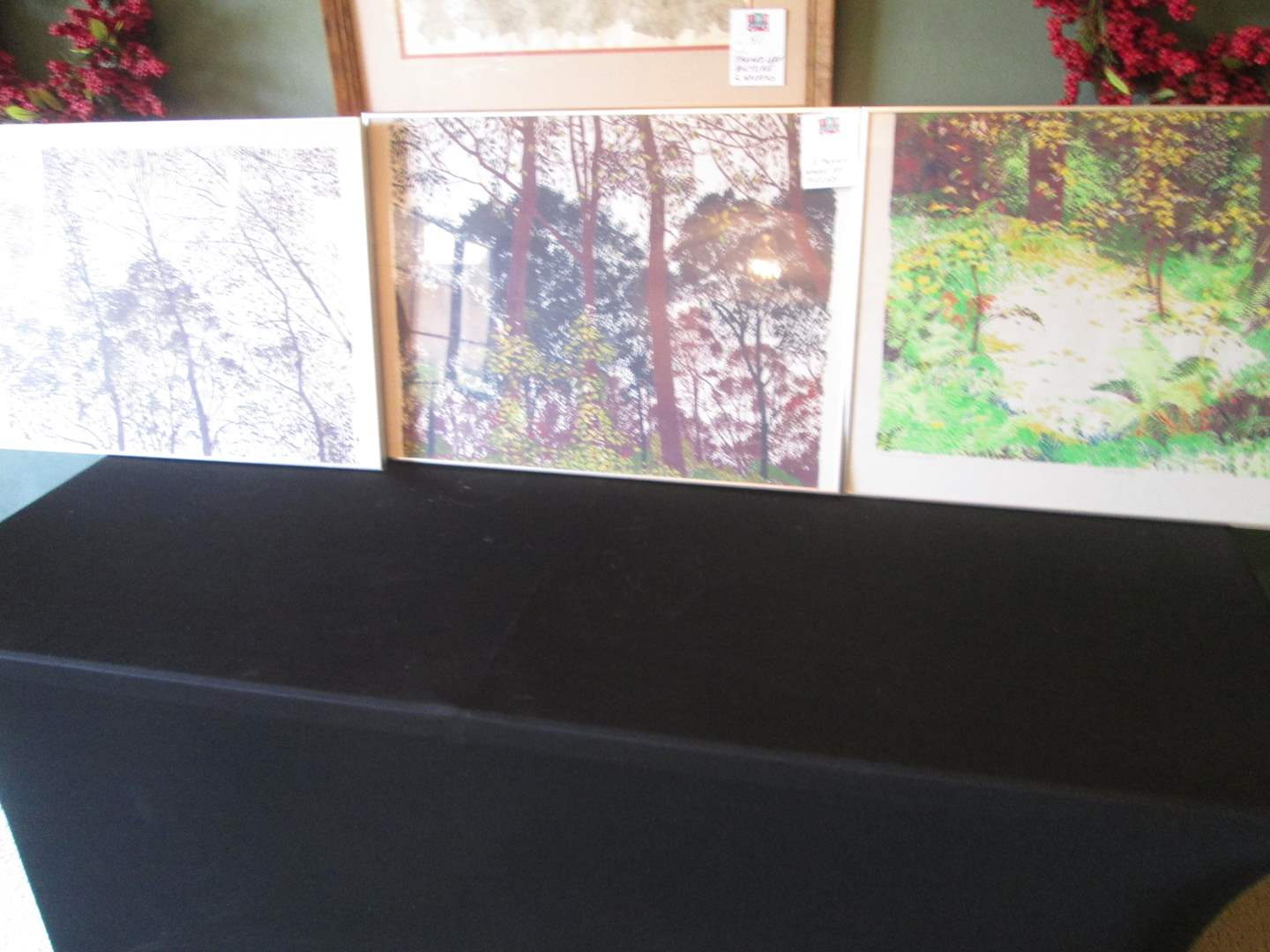 Lot # 52 - 3-Framed Art Pieces (main image)