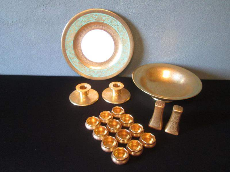 Lot # 56 - Pickard, Staffordshire Serving Pieces (main image)