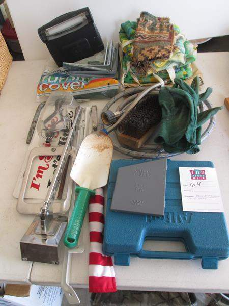 Lot # 64 - Drill Bits & Miscellaneous Items (main image)