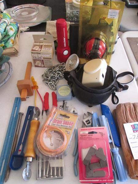 Lot # 73 - Miscellaneous Tools (main image)