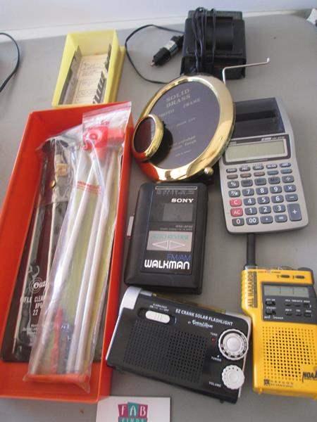 Lot # 77 - Radar Detector, Frames & Calculator (main image)