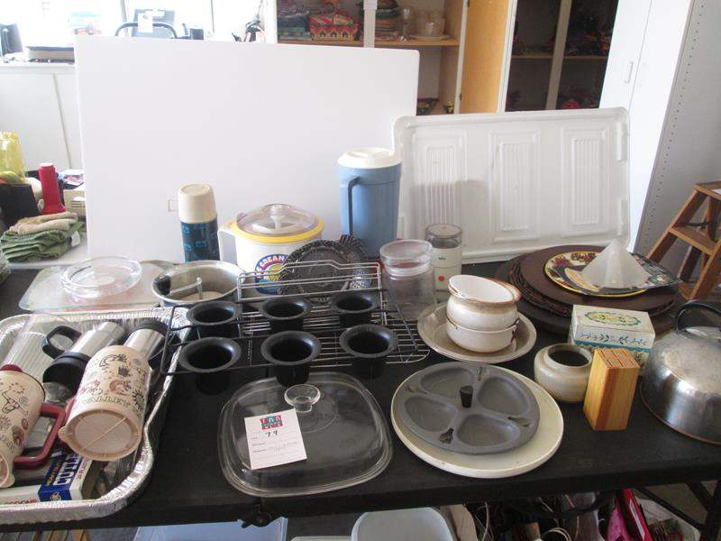 Lot # 79 - Miscellaneous Kitchen Items (main image)