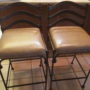 Auction Thumbnail for: Lot # 91 - 2-Bar Stools