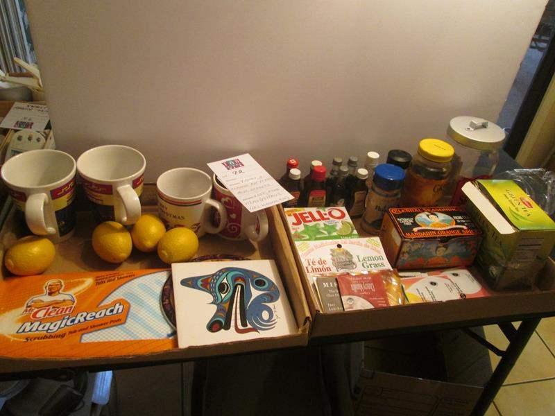 Lot # 92 - Mugs, Trivets, Miscellaneous Food Items (main image)