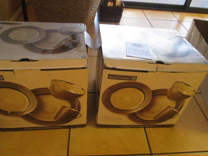 Lot # 98 - Dish Set, Service for 8 (2-Boxes) (main image)
