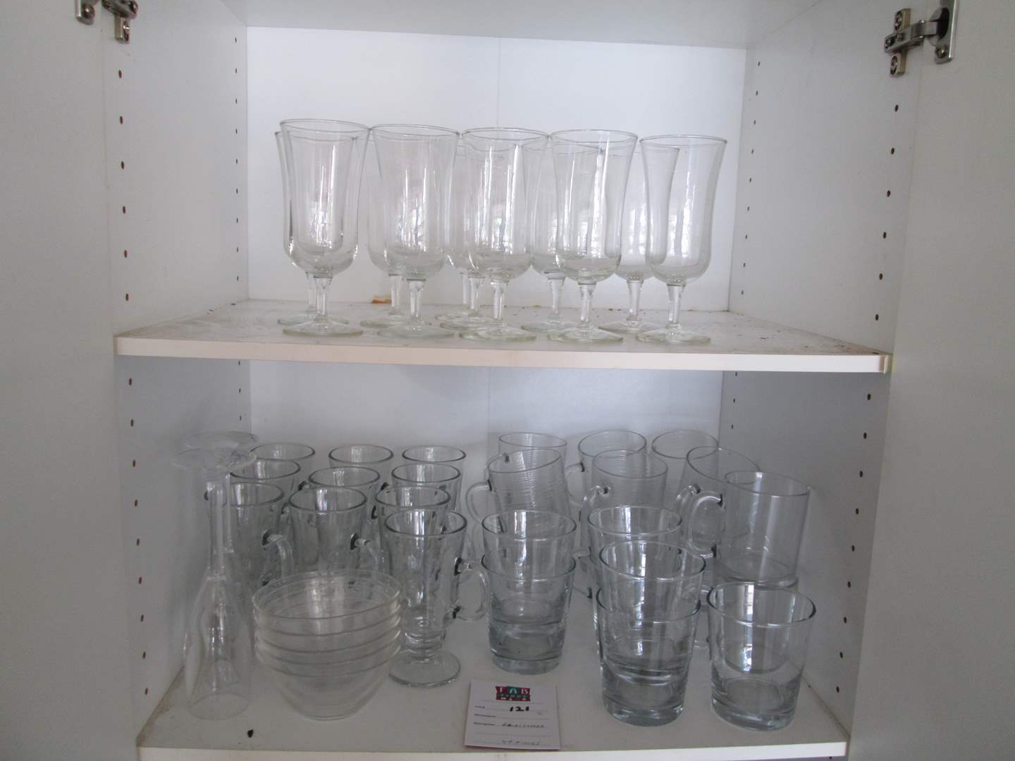 Lot # 121 - Assorted Glassware (main image)