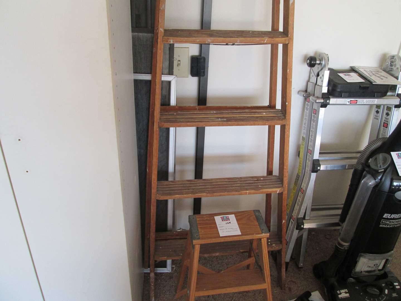 Lot # 124 - 8' Ladder & 2' Ladder (main image)