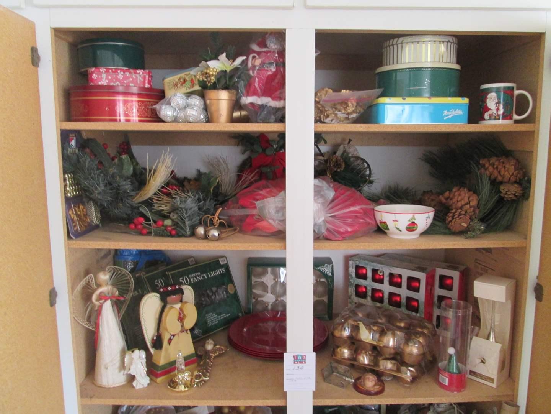 Lot # 130 - Variety of Christmas Items (main image)