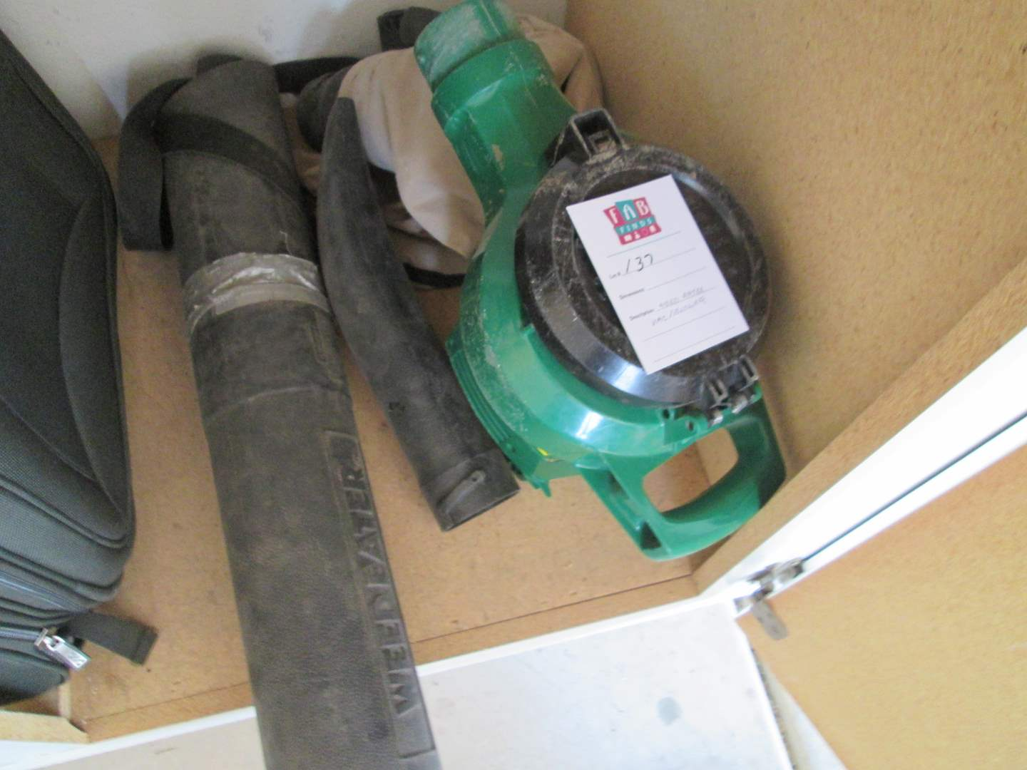 Lot # 137 - Weed Eater & Vac Blower (main image)