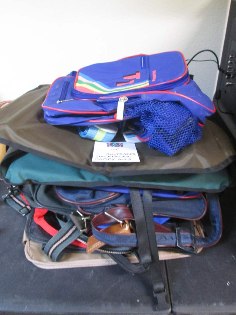 Lot # 115 - Backpacks, Suitcases (main image)
