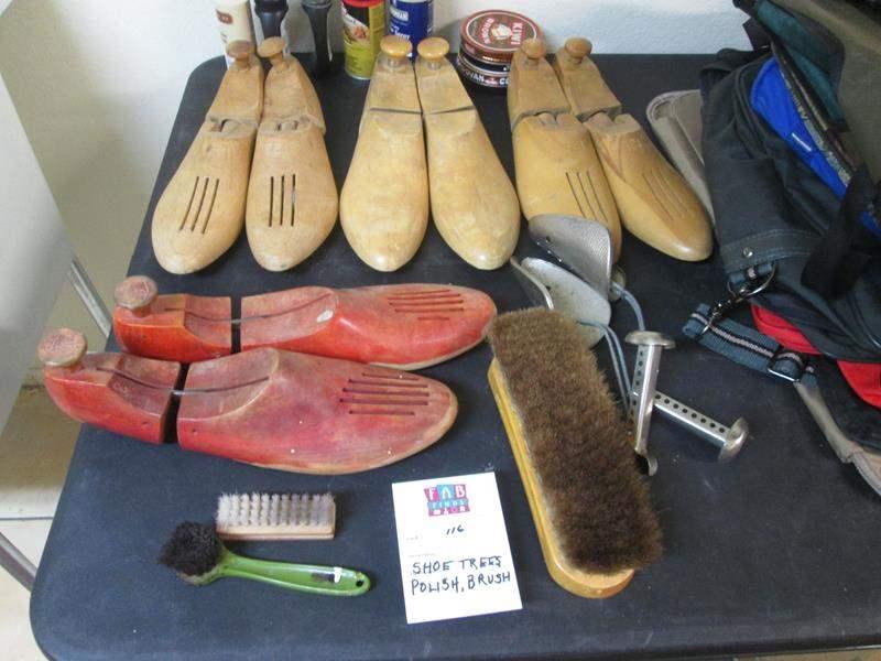 Lot # 116 - Shoetrees, Polish & Brushes (main image)