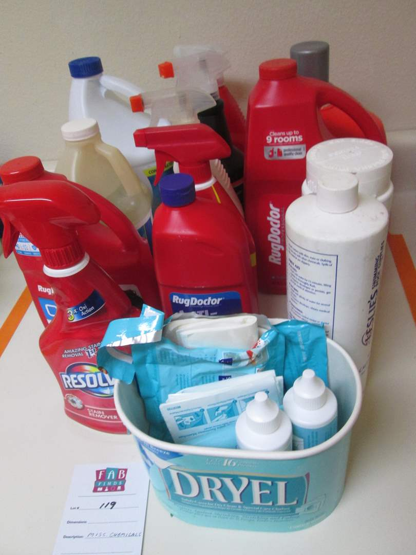 Lot # 119 - Chemicals & Cleaning Products (main image)