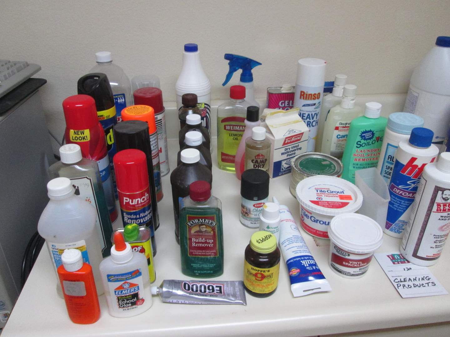 Lot # 120 - Cleaning Products (main image)