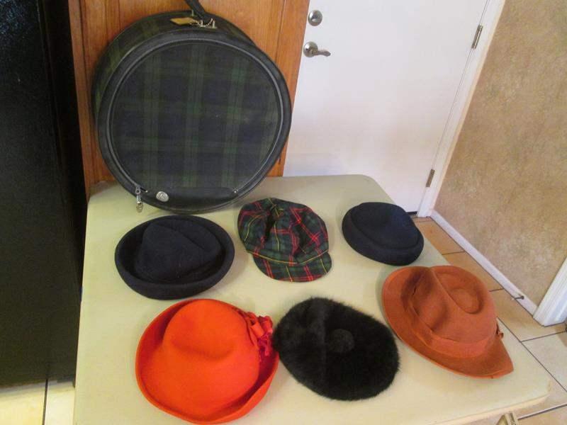 Lot # 158 - 6 Hats + Case (main image)