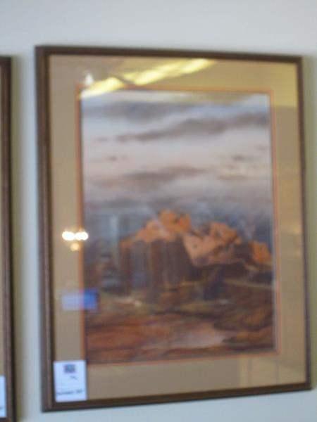 Lot # 172 - Framed Southwest Art (main image)
