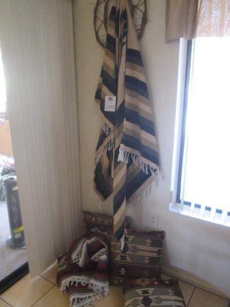 Lot # 175 - Southwest-Themed Textiles & Throw Pillows (main image)