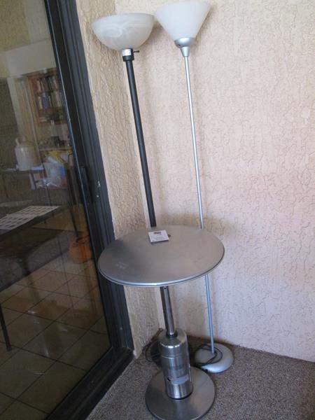 Lot # 178 - Patio Heater & 2-Lamps (main image)