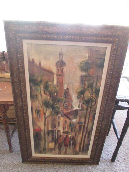 Lot # 200 - Framed Painting (main image)