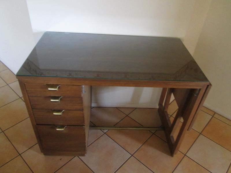 Lot # 225 - MCM Drop-Side Desk by Drexel (main image)