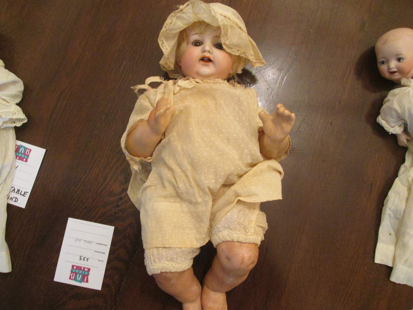 "Lot # 233 - 19"" Baby Doll by Nippon Bisque Head (main image)"