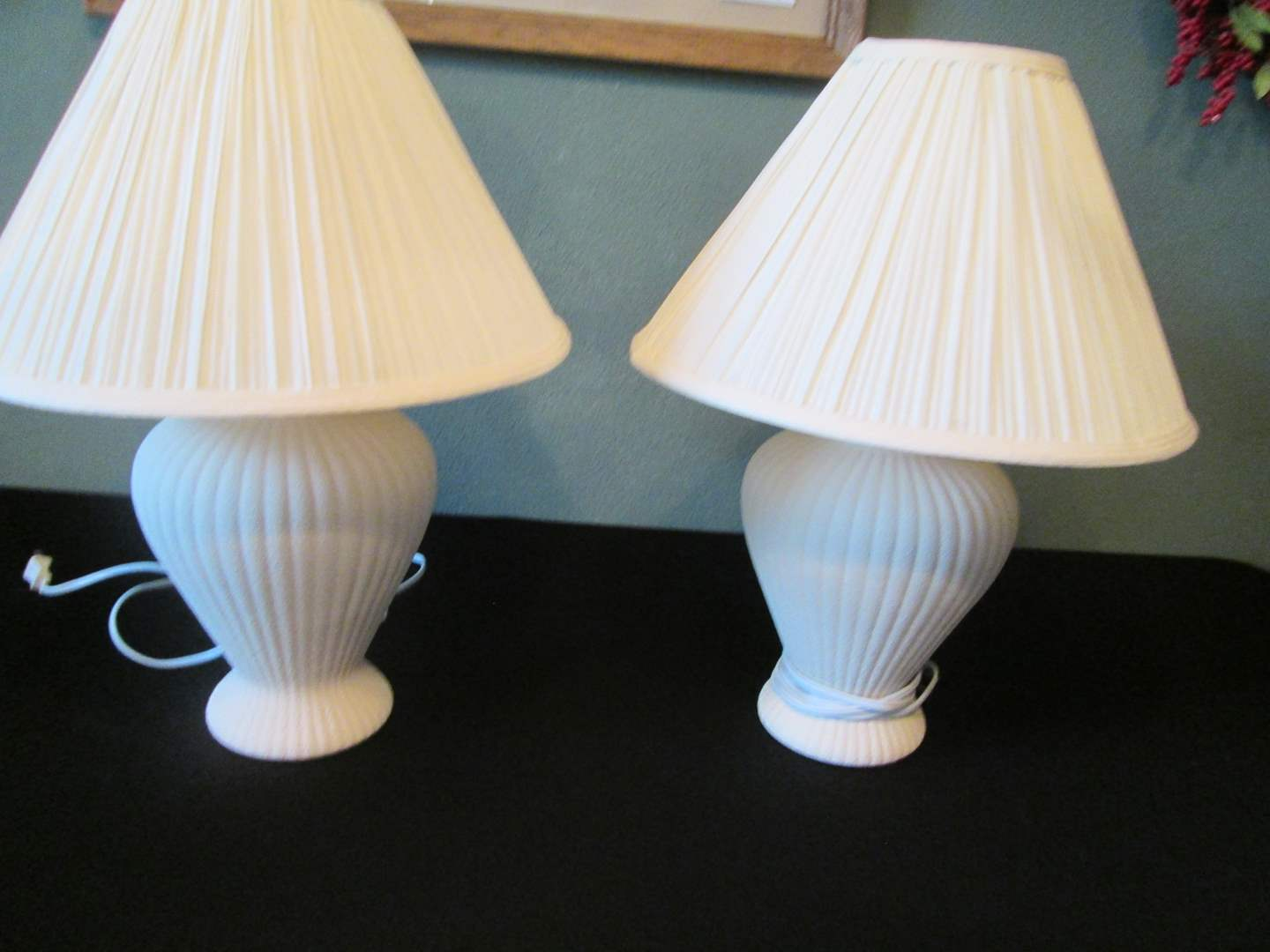Lot # 266 - 2-Matching Table Lamps (main image)