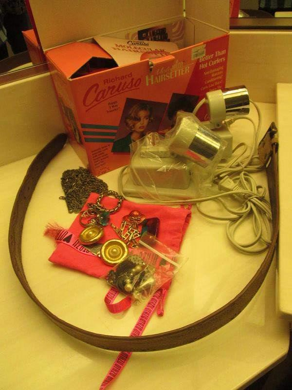 Lot # 3 - Hot Curlers, Jewelry & Miscellaneous (main image)