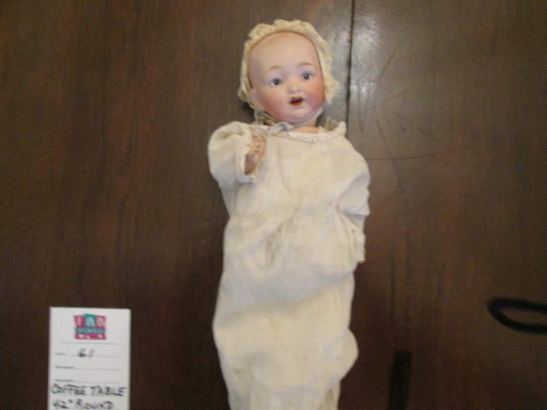 "Lot # 235 - 11"" Baby Doll Bisque Head Composition Body 1900-1910 approx. (main image)"