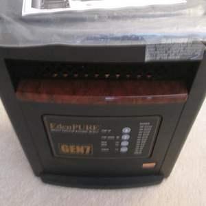 Auction Thumbnail for: Lot # 19 - EdenPURE Heater #GEN 7