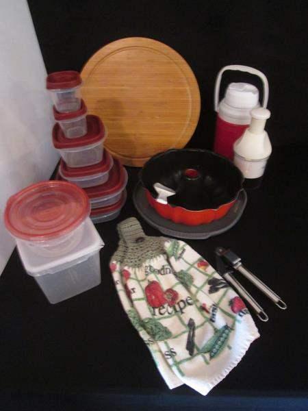 Lot # 33 - Miscellaneous Kitchen Items, 17 pieces (main image)