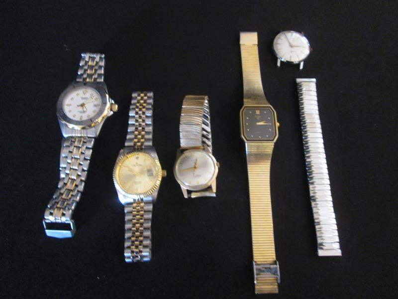 Lot # 43 - Men's Watches, 5 Items (main image)