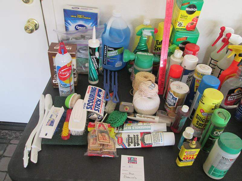 Lot # 61 - Variety of Chemicals (main image)
