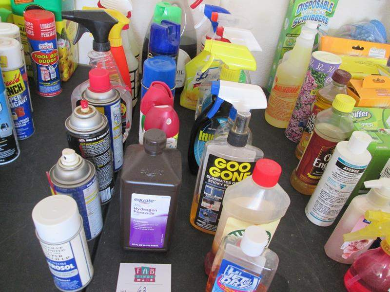 Lot # 62 - Miscellaneous Chemicals (main image)