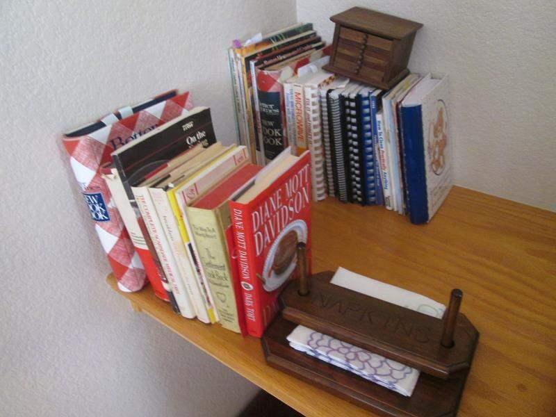Lot # 52 - Assorted Cookbooks & Napkin Holder (main image)