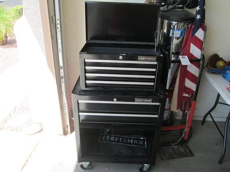 Lot # 74 - 2-Piece Craftsman Tool Box on Wheels (main image)
