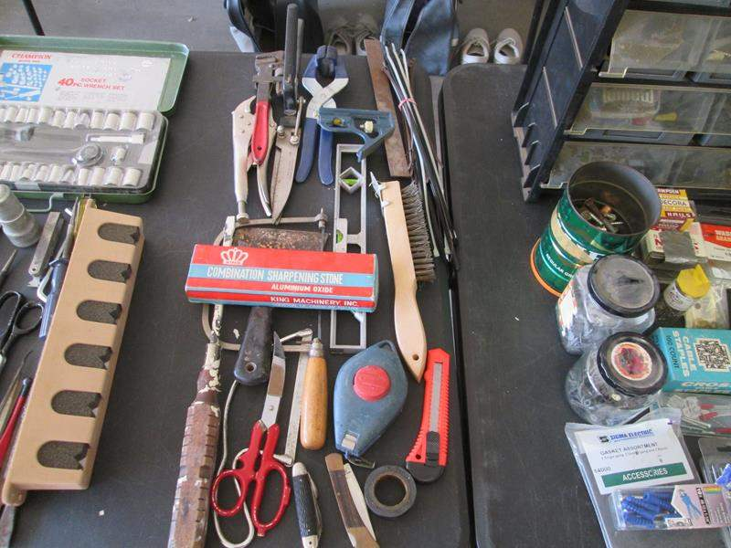 Lot # 86 - Assorted Garage Tools & Supplies (main image)