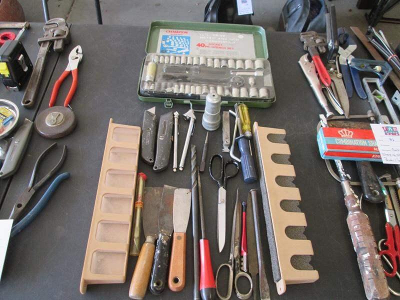 Lot # 87 - 40 Piece Socket Set & Variety of Hand Tools (main image)