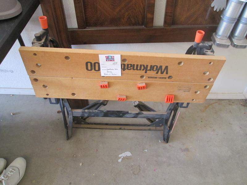Lot # 139 - Black & Decker Workman 300 Bench (main image)