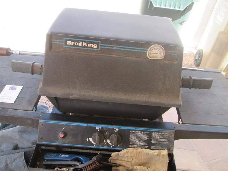 Lot # 169 - Broil King Grill & Accessories (Works but needs Switch) (main image)