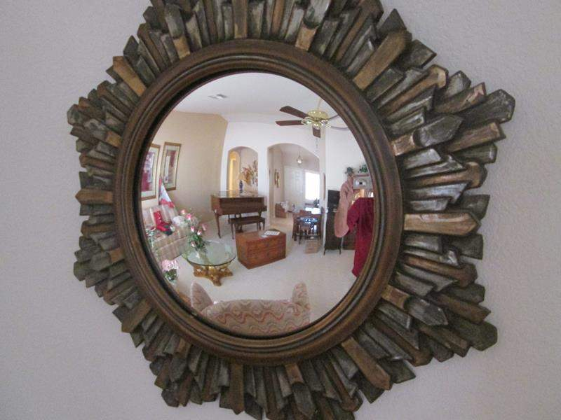 """Lot # 180 - 24"""" Round Wall-Mount Concave Mirror (main image)"""