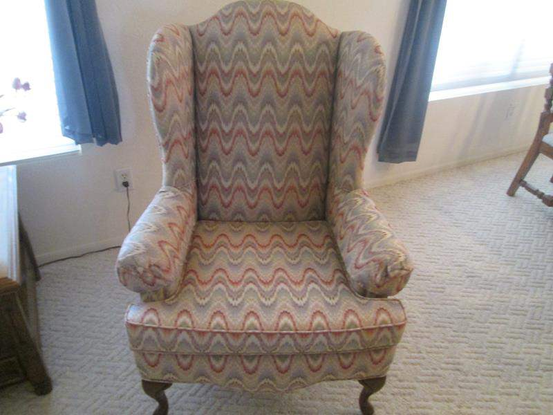 Lot # 210 - 2-Wing Back Chairs (main image)