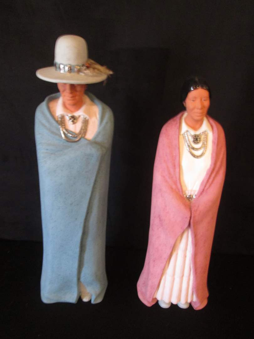 "Lot # 236 - Southwest Style Sculptures, 21"" High & 19"" High (main image)"