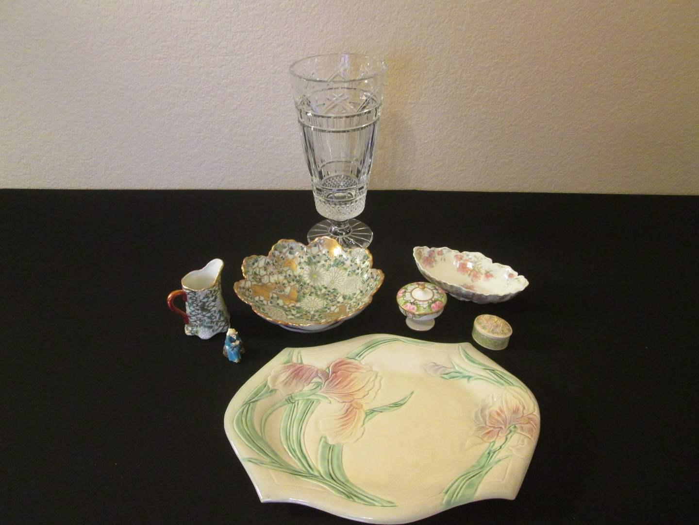 Lot # 249 - Vase & Porcelain Collectibles (main image)