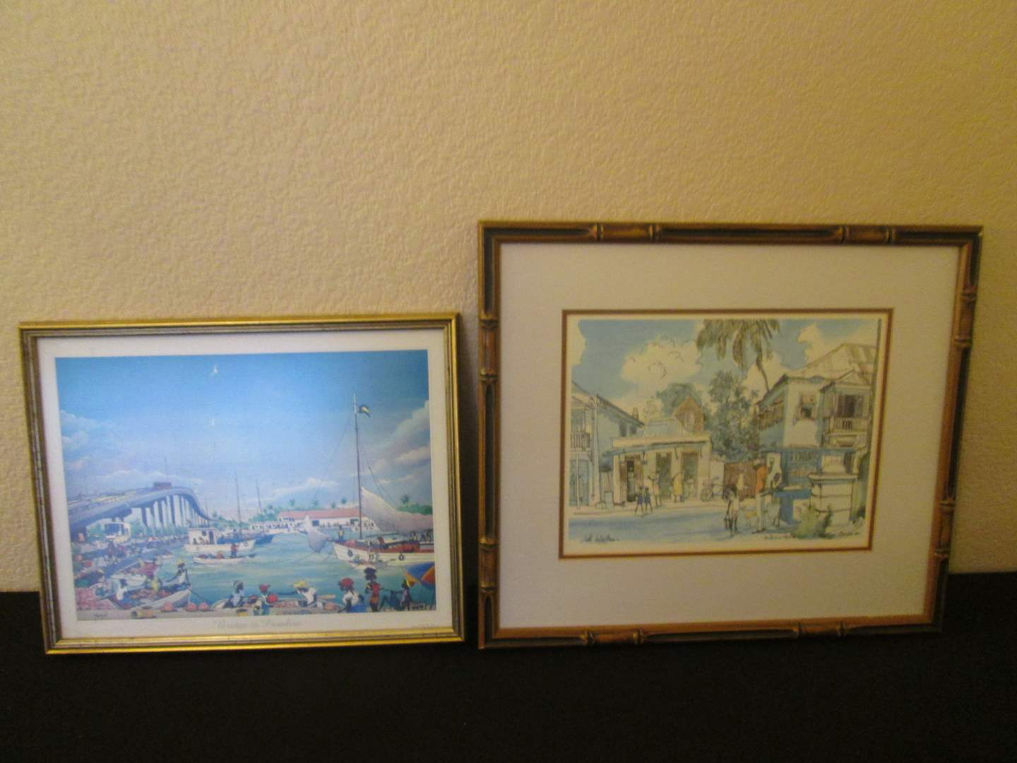 Lot # 260 - 2-Framed Wall Art (main image)