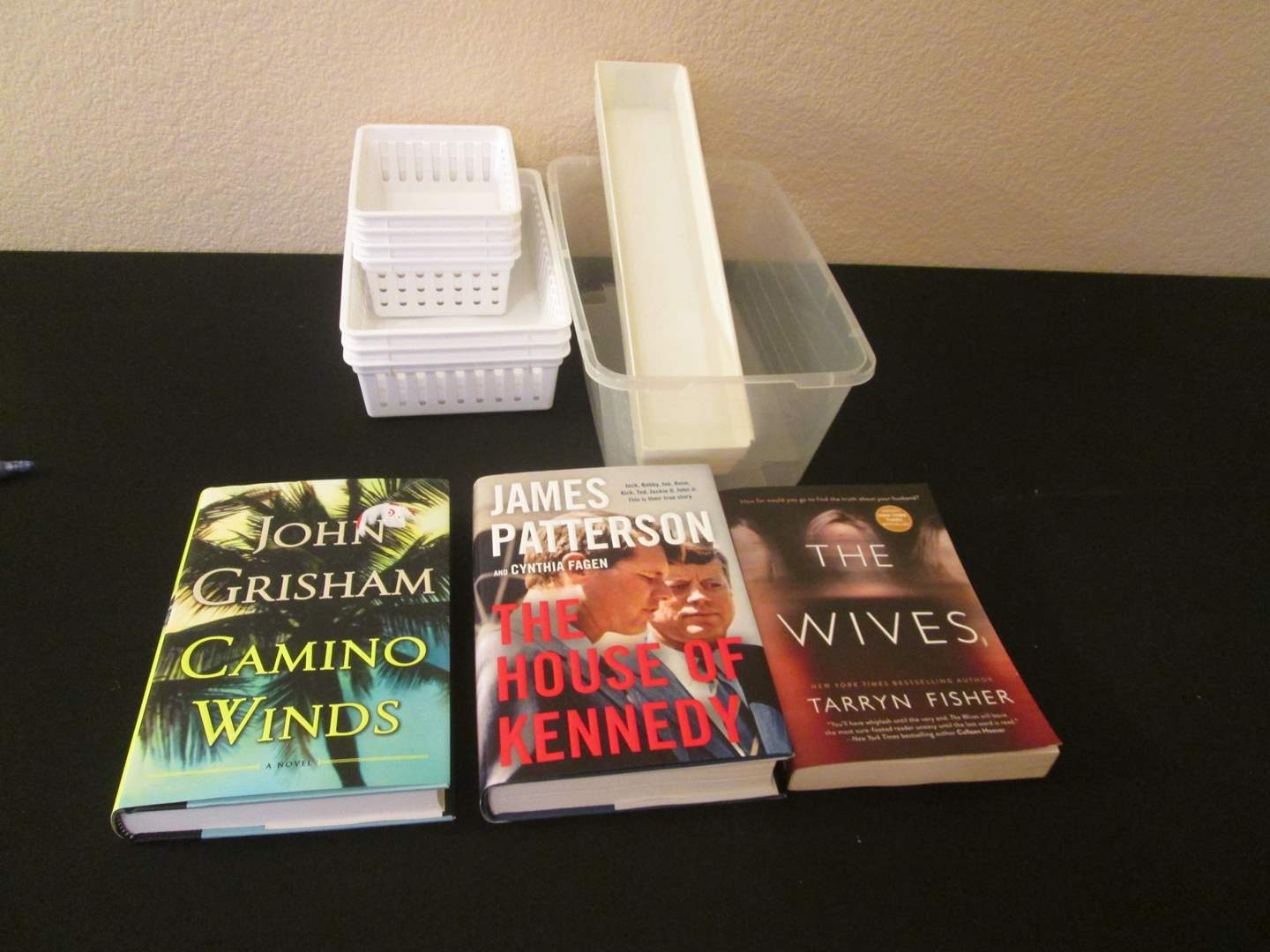 Lot # 265 - Books & Plastic Containers (main image)