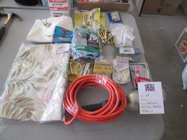 Lot # 68 - Assorted Hardware & Garage Items (main image)