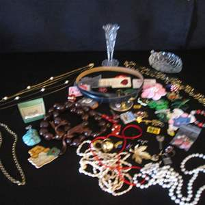 Auction Thumbnail for: Lot # 111 - Costume Jewelry + + +
