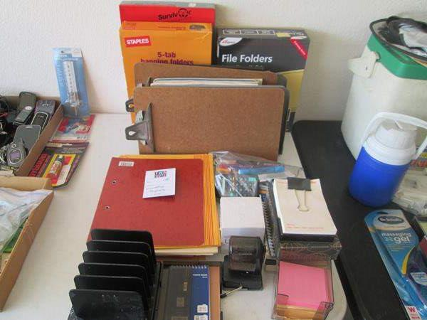 Lot # 133 - Office Supplies (main image)
