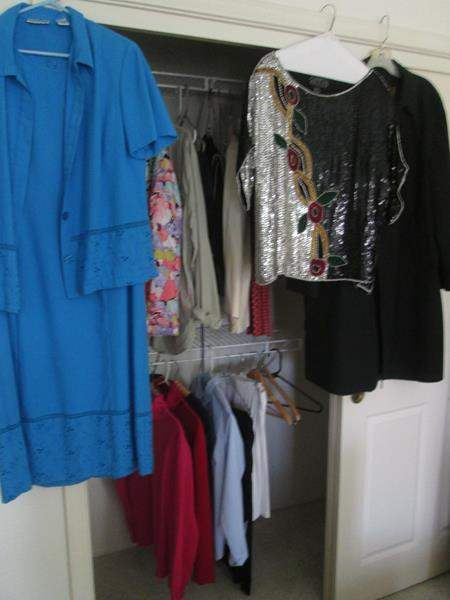 Lot # 16 - Ladies Clothing, including Sequined Blouse, 20 pieces (main image)